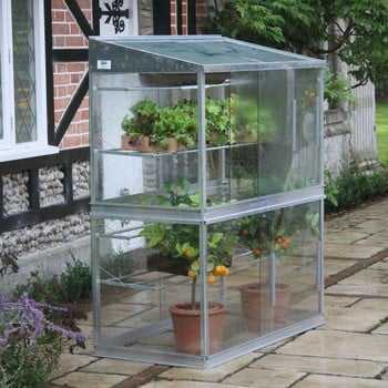 Double Lean-To Cold Frame