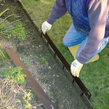 Everedge Brown Flexible Steel Lawn Edging