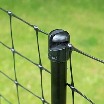 Flexible Chicken Fencing with Gate