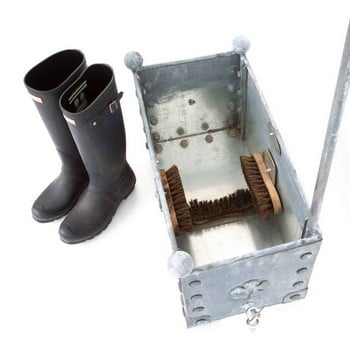 Galvanised Steel Boot Wash