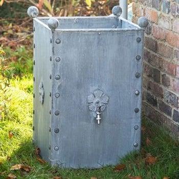 Galvanised Steel Water Butt 185 litres