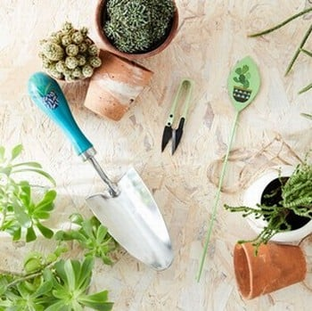 Garden Trowel, Snips and Label Gift Boxed