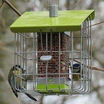 Geohaus Nut Bird Feeder - Lime Green