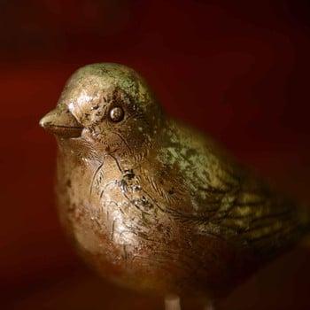 Gold Bird Decorations by Gisela Graham