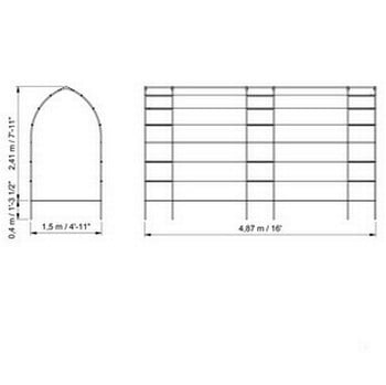 Gothic Linked Arches - Bespoke Design