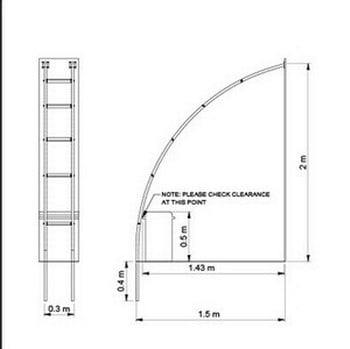 Half Gothic Wall Arch - Bespoke Design