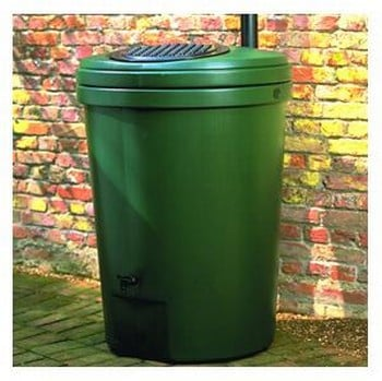 Harcostar 350 Litre/77 Gallon Water Butts & Free Rain Trap