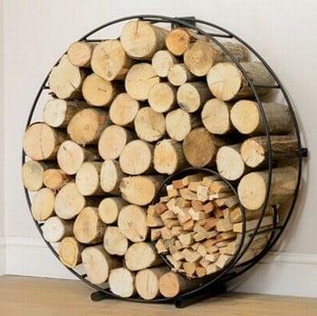 Harrod Circular Wire Log Holder (Floor Standing)
