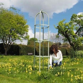 Harrod Grand Round Obelisk - Lichen Green