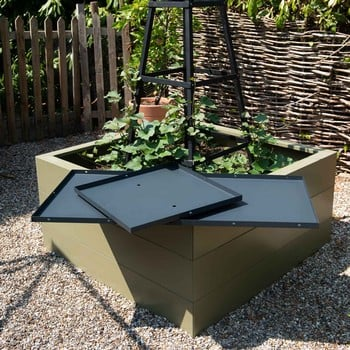 Harrod Metal Raised Bed Bases