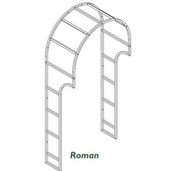 Harrod Roman Door Canopy