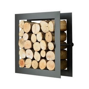 Harrod Square Steel Log Holder