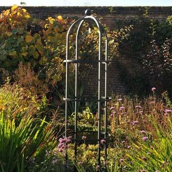 Harrod Steel Grand Round Obelisk - Matt Black