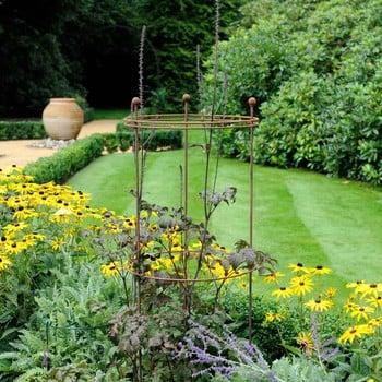 Harrod Tall Circular Plant Support - Rust