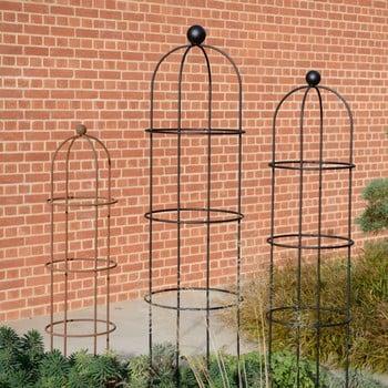 Harrod Vintage Round Wire Obelisks