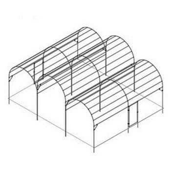 Large Roman Arch Fruit Cage - Bespoke Design
