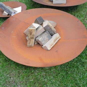 Large Steel Fire Bowls