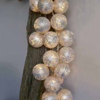 LED Glitter Ball Garlands