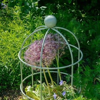 Lobster Pot Plant Supports - Lichen Green