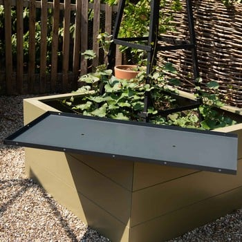 Metal Raised Bed Bases for Superior Metal Raised Beds Only