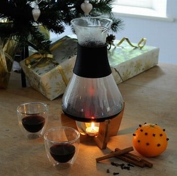 Mulled Wine Tea Light Set with 2 Glasses