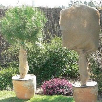 Natureroll Natural Hessian (1m x 10m) Fleece Alternative