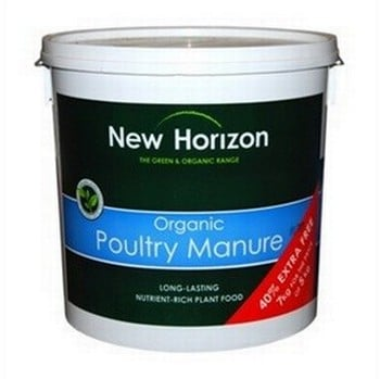 New Horizon Organic Pelleted Poultry Manure