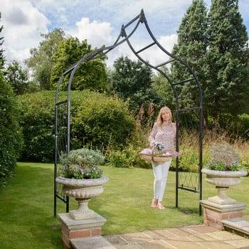 Ogee Half Lattice Standard Garden Arch