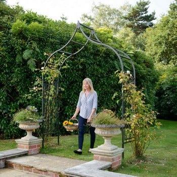 Ogee Half Lattice Superior Garden Arch