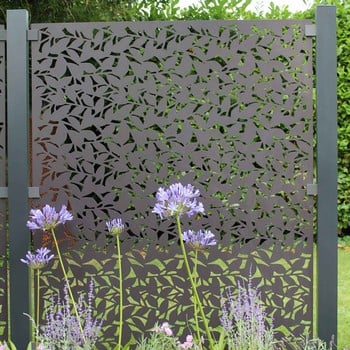 Powder Coated Aluminium Screens (Branches Design)