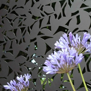 Powder Coated Aluminium Screens (Branches Design)