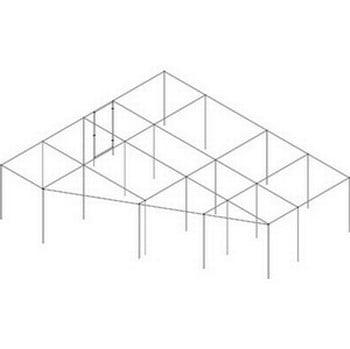 Right Angled Aluminium Fruit Cage - Bespoke Design
