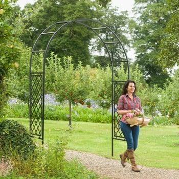 Roman Half Lattice Superior Garden Arch
