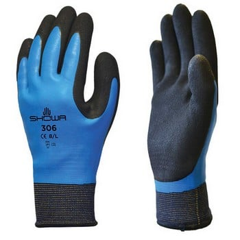 Showa 306 Waterproof Latex Gloves