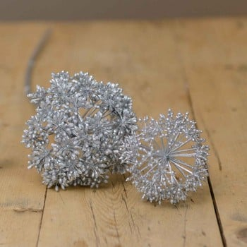 Silver Eucalyptus Seeds with Glitter by Sia