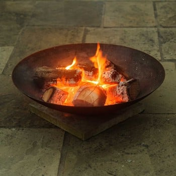 Small Steel Fire Bowls