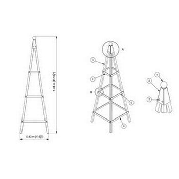 Steel Pyramid Obelisk-Bespoke Design
