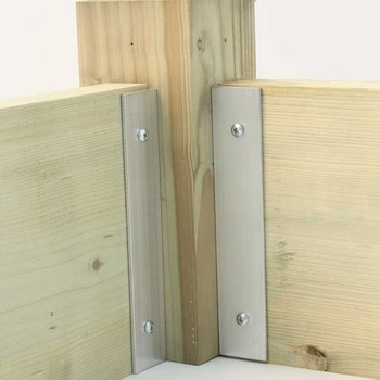 Superior Raised Bed Planks with brackets
