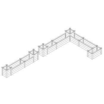 Superior Raised Beds Corner - Bespoke Design