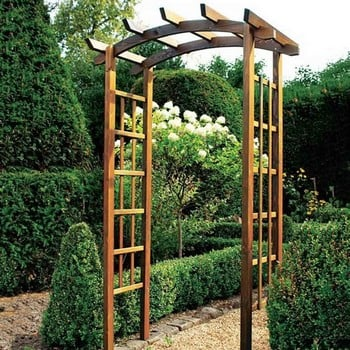 Thornton Rustic Garden Arch