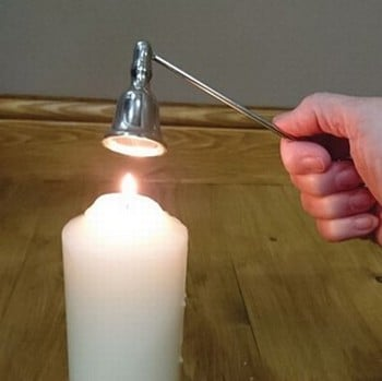 Vintage Silver Effect Candle Snuffer