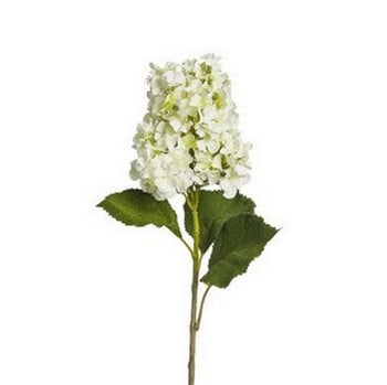 White Hydrangea Spray by Sia