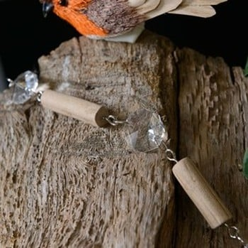 Wood & Glass Garland by Sia