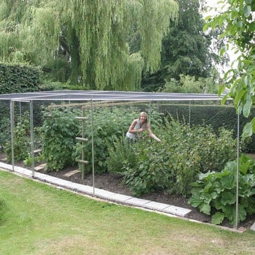 Aluminium Fruit Cage with Butterfly Netting