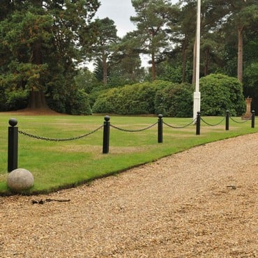 Driveway Chain Link Fencing