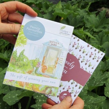 Family Favourites Veg Patch Gift Voucher
