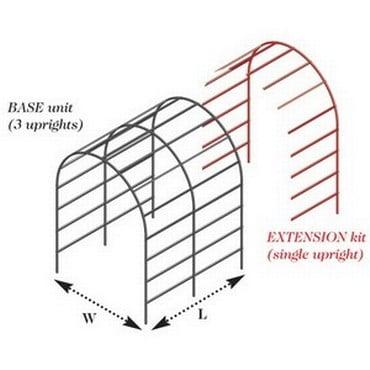Gothic Pergola Extension Kits