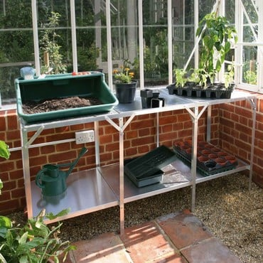 Greenhouse Staging - Two Tier