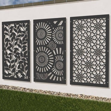 Harrod Laser Screen Panels and Posts