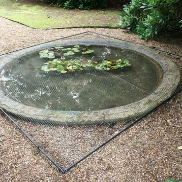 Harrod Slot and Lock® Flat Aluminium Pond Covers